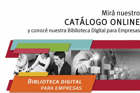 Biblioteca digital para empresas